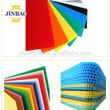 JINBAO Certification SGS new pack material 3mm white blue hollow pp board