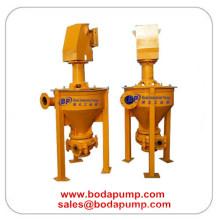 Pompe centrifugée verticale verticale centrifugée à la bouillie de mousse
