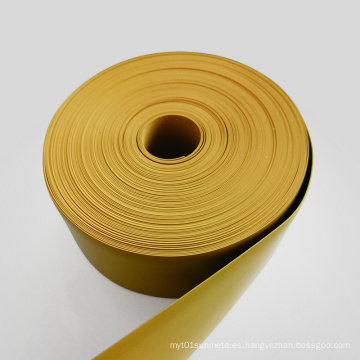 Rollo de lámina de plástico liso PTFE