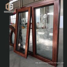 Comfortable new design termopanel windows teak wood windows teak wood window design