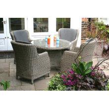 Jardín de estilo europeo redonda mesa muebles de la rota