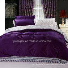 Роскошные текстильные ткани высокого качества 1000tc 100% хлопок постельное белье
