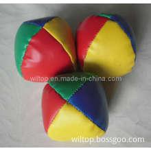 Muli-Color Bead-Stuffed Juggling Balls (PM178)