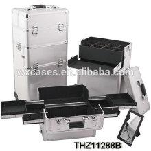 Caso cosmético de la cerradura portátil personalizado con buen diseño