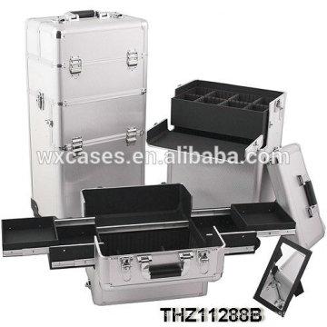 Fechadura de combinação portátil personalizado caso cosmético com bom design