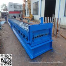 Machine à former des rouleaux de tuiles ondulés en métal et en acier