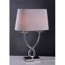 Brass+Stainless Steel Desk Lamp (BT6022)