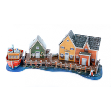 3D Fishermans Wharf Puzzle
