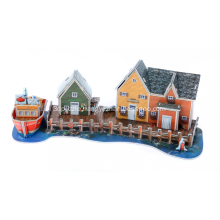 3D Fisherman's Wharf Puzzle