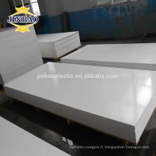 JINBAO 3 5 10MM haute densité comprimé celuca PVC panneau de mousse