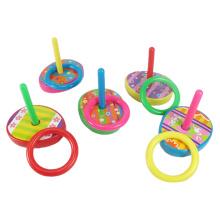 Jouet coloré d'éducation des enfants jouet en plastique de jeu d'anneau (10223613)