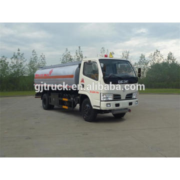 Dongfeng 4X2 drive fuel tank truck for 3-12 cubic meter