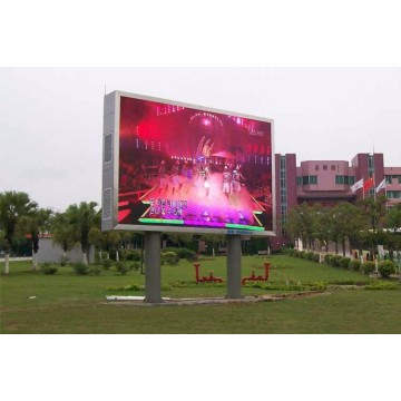 Cartelera digital LED a todo color al aire libre