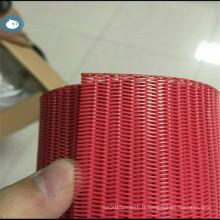 Courroie de convoyeur de filtre de polyester de haute température pour la déshydratation de boue