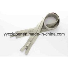 Platinum Y Teeth Two Way Separating Metal Zipper Professional Factory