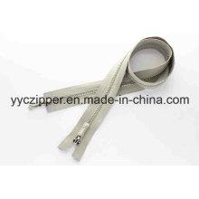 Платина Y Зубья с двухсторонней отделкой Металлическая молния Professional Factory