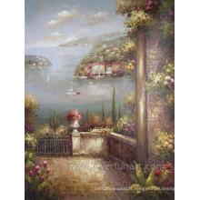 Peintures à la main de la Méditerranée