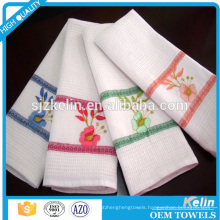 white waffle weave kitchen towels wholesale
