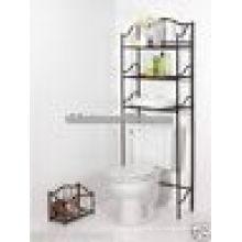Элегантность хром Материал собственной ванной\ над унитазом полки для хранения\экономия пространства для ванной
