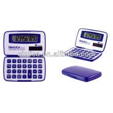 10 chiffres calculatrice pliante double puissance promotionnelle JS-101T