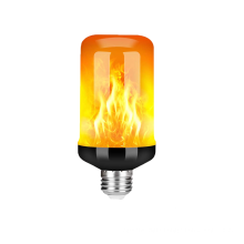 3w energy saving E27 B22 flame effect retrofit Upgraded 4 Modes Flickering Fire lamp Upside Down Effect