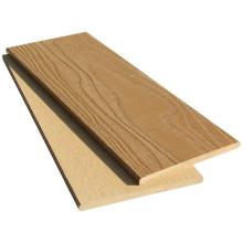 Wood plastic composite outdoor decorative composite fence panel
