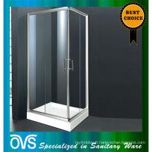 clair verre trempé cabine de douche fabrication de porcelaine