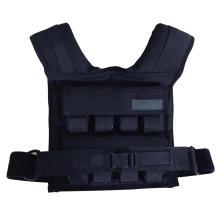 Adjustable steel plate vest fitness sandbag training weight vest