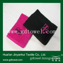 Embroidery Logo Towel, Personalized Towel, Customized Logo Cotton Solid Color Towel