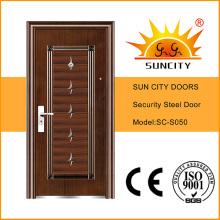 Kerala Steel Door Metal Door Skin Used Wrought Iron Door Gates (SC-S050)