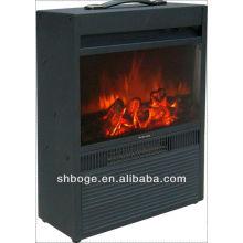 Portable / insert chimenea eléctrica de imitación decorativa de interior (con mantel)