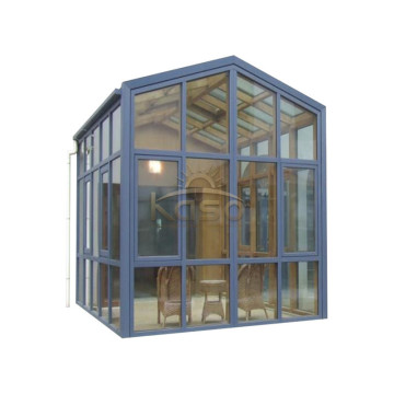 Gazebo de aluminio montado en la pared Victoriana Sunroom Winter Garden