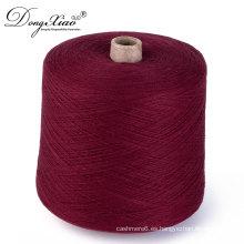 2017 personalizado muchos estilos que hacen punto 10% cashmere90% lana mezclado hilado para máquina de tejer