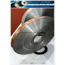Imprimé en couleur et mots en aluminium Laminated Pet Mylar Tape pour câble