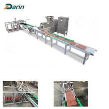 Natural Munchy Meat Strip Extruder Machine