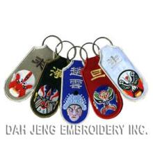 Embroidered Key Chains - Chinese Opera