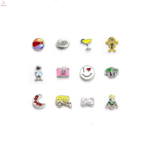 2018 custom floating locket charms, floating charms wholesale