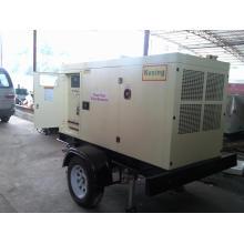 Trailer Soundproof Diesel Geneartor Generator de Perkins