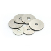 Stainless steel 304 flat stamping laser cutting gasket round shims