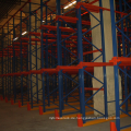 Stahlregalantrieb im Palettenregalsystem