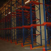 Unidade de trabalho pesado global em estantes de paletes
