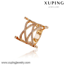 14662 xuping atacado jóias 18k banhado a ouro anel de luxo para as mulheres