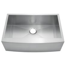 Fregadero de cocina de acero inoxidable delantal de granja fregadero