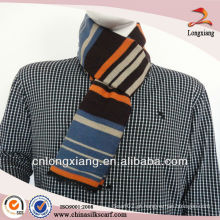 Pele de viscose de seda quente de 2013 Winter Warm Stripe