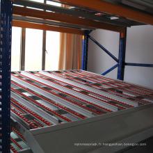 Solution de stockage dynamique à usage moyen / système de stockage en direct de carton