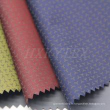 52% Nylon et 48% Polyester Imprimé Tissu Imprimé pour Manteau matelassé