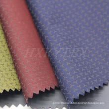 52% Nylon e 48% Poliéster Mistura de Tecido Impresso para o Casaco Acolchoado