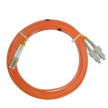 Cabo de correção de fibra óptica duplex LC-Sc multimodo