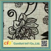 2016 flocage flore Funiture tissu