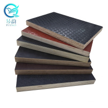 multi ply 12mm combi core dark brown phenolic resin film faced wbp plywood shuttering panel sheet  for concrete template and box